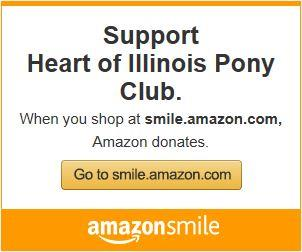 "AmazonSmile is a simple way for you to support IU every time you shop. Select the ""United States Pony Clubs, Inc."" for Central Illinois, buy cool stuff, and Amazon will donate 0.5% of eligible purchases to Heart of Illinois Pony Club."
